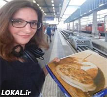 زندگی یک دختر ۲۳ساله در قطار + تصویر