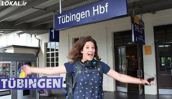 یک دختر آلمانی در قطار زندگی می کند در سایت لوکال